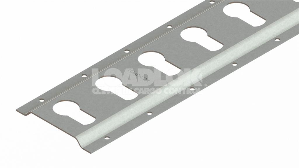 1803H Zinc Clear 2.0mm Track 3000mm