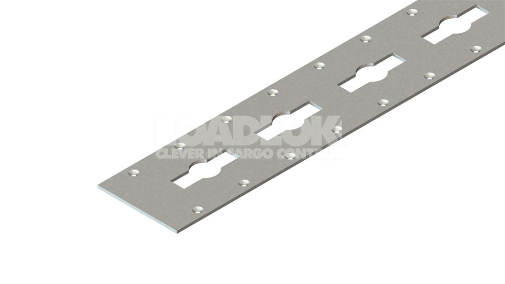 5110 Zinc Clear 3mm Track 2500mm