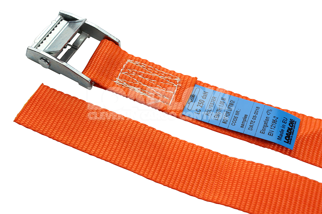 25mm 250kg Cam Buckle Strap 1,50m